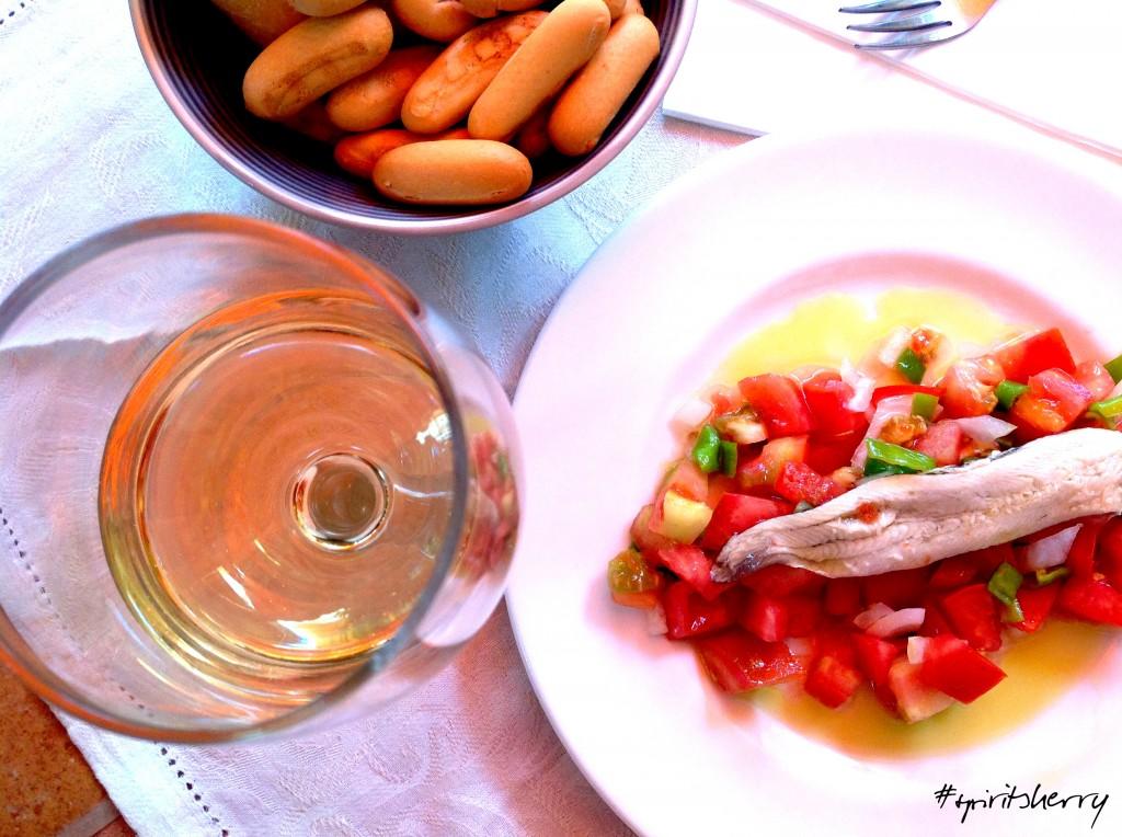 Sherry summer pairing, verano de maridajes vinso de jerez, enoturismo turismo rural Spirit Sherry.com