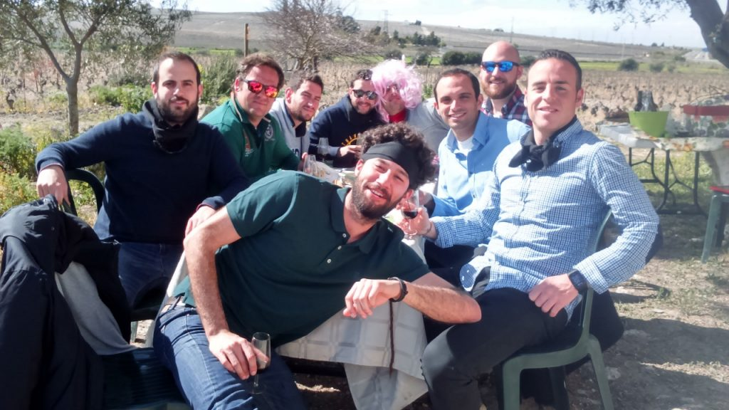 Despedida de solteros, visita viñedos, marco de jerez, Cádiz , planes diferentes
