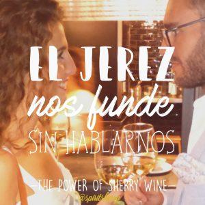 El Jerez nos funde sin hablarnos vinos parehja