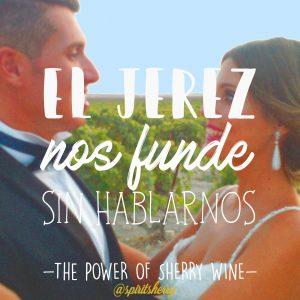 El Jerez nos funde sin hablarnos vinos parehjaNOVIOS