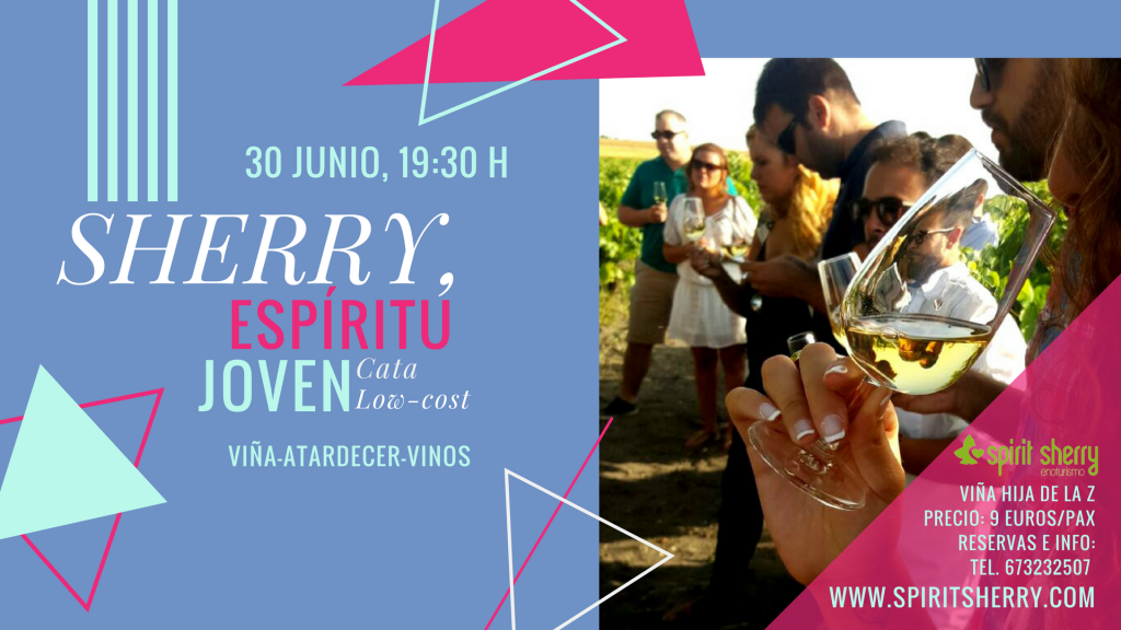 SHERRY Party, tasting for young people Visit to vineyard, Jerez vineyards framework, Sanlucar, El Puerto de Santa María, Winery Experience, Tours Special